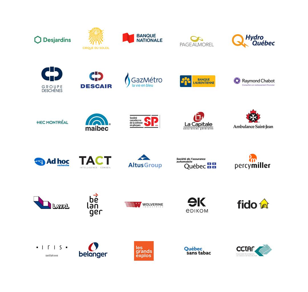 Liste de logos clients